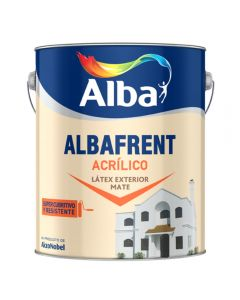 Albafrent Latex Ext (Blanco)  4 L