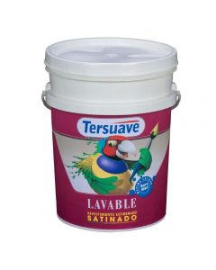 TERSUAVE LAVABLE SATINADO (Blanco)  1 L